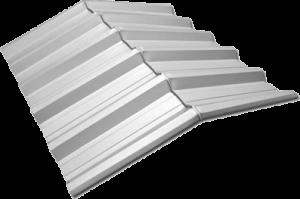Exemplo da Cumeeira trapézio 40