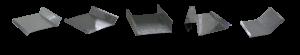 Exemplo dos modelos de rufos disponíveis na Jacofer